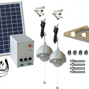 10W-Panel-Solar-Home-System-Kit-Including-Cell-Phone-Charger-2-Strong-LED-Lights-0-0