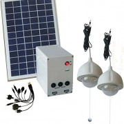 10W-Panel-Solar-Home-System-Kit-Including-Cell-Phone-Charger-2-Strong-LED-Lights-0