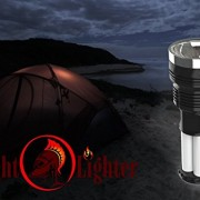 Knight-Lighter-Camping-Lantern-Spotlight-Rechargeable-Nightlight-Flashlight-Solar-Emergency-Light-with-Lantern-Great-for-Auto-Emergency-Kit-0-1
